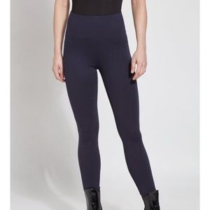 Lysse Tight Ankle High Rise Leggings in Midnight